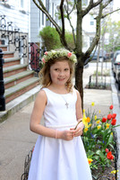 Clara First Communion
